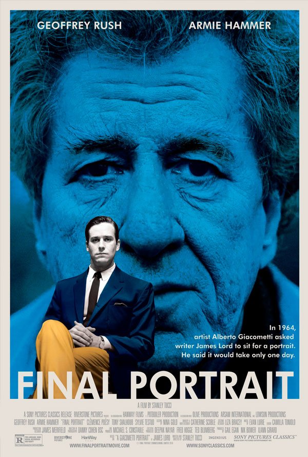 Final Portrait Film Poster